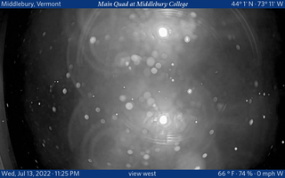 Main Quad at Middlebury College